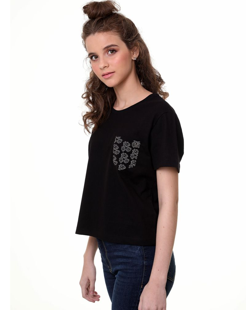 Camiseta Flowers (Feminino Adulto)