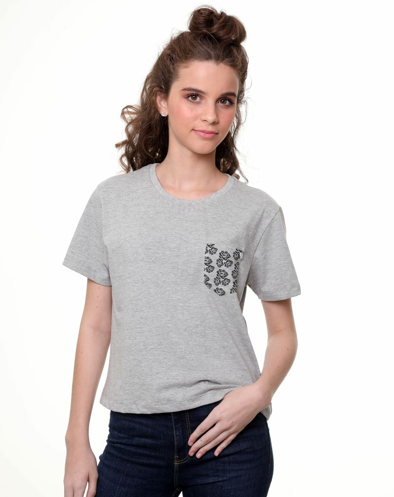 Camiseta Flowers (Feminino Adulto)