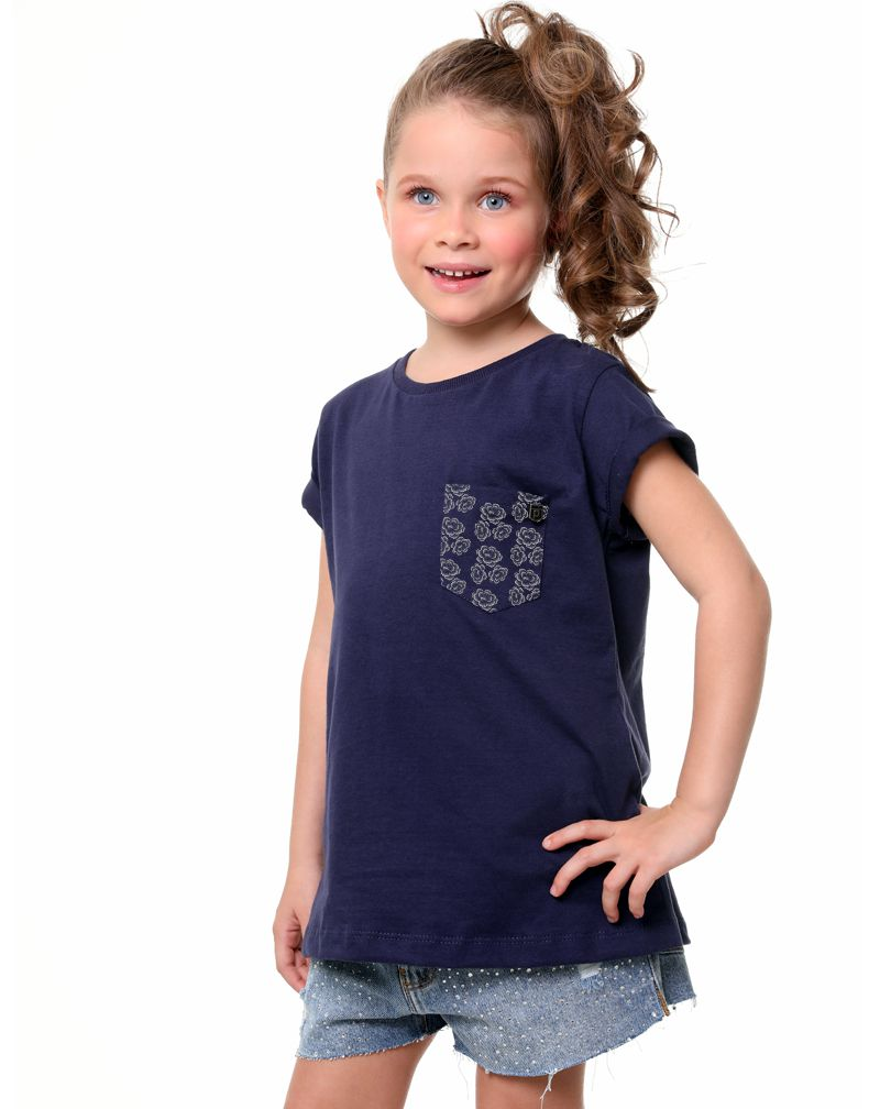 Camiseta Flowers (Infantil Feminino)