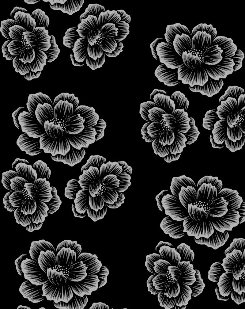 Camiseta Flowers (Masculino Adulto)