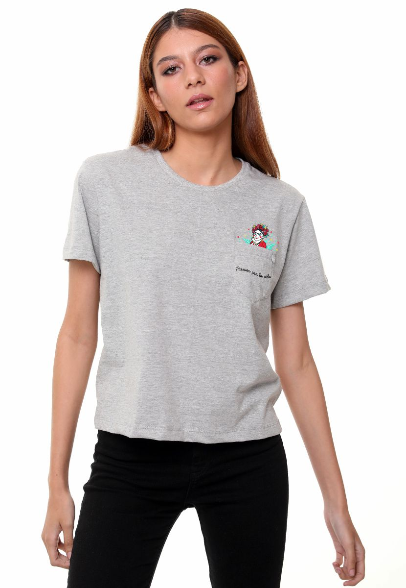 Camiseta Frida (Feminino Adulto)