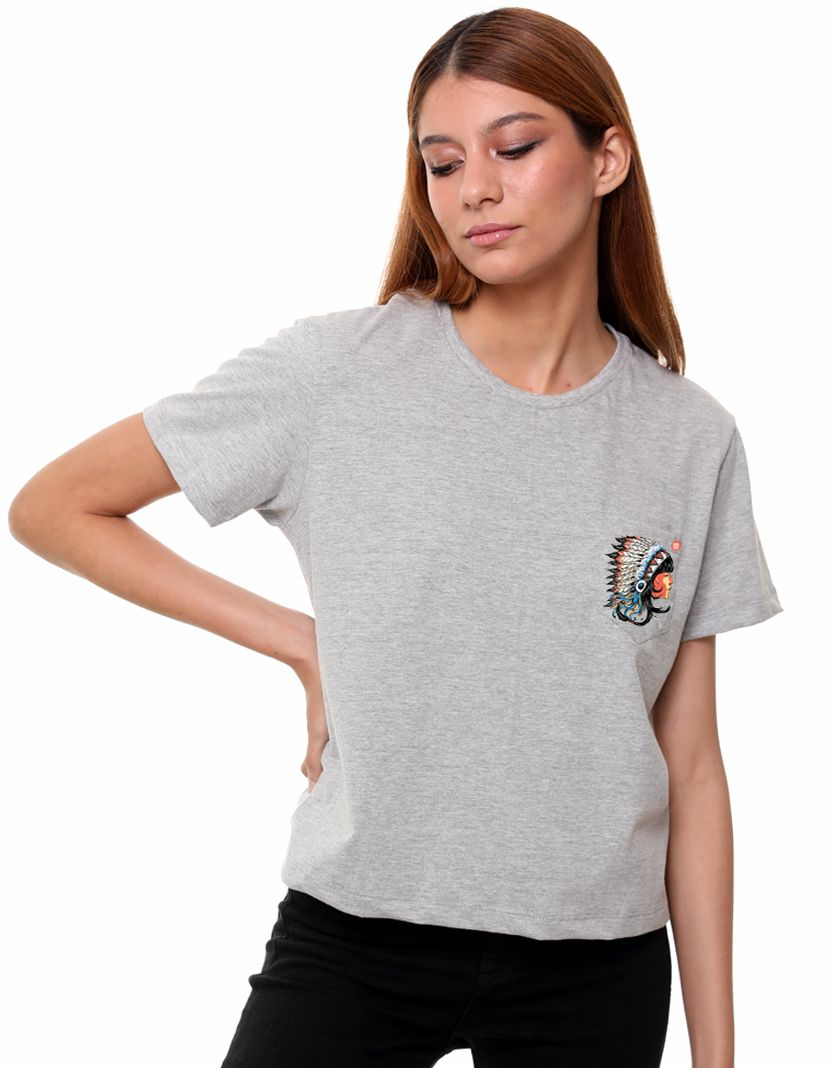 Camiseta Índia (Feminino Adulto)