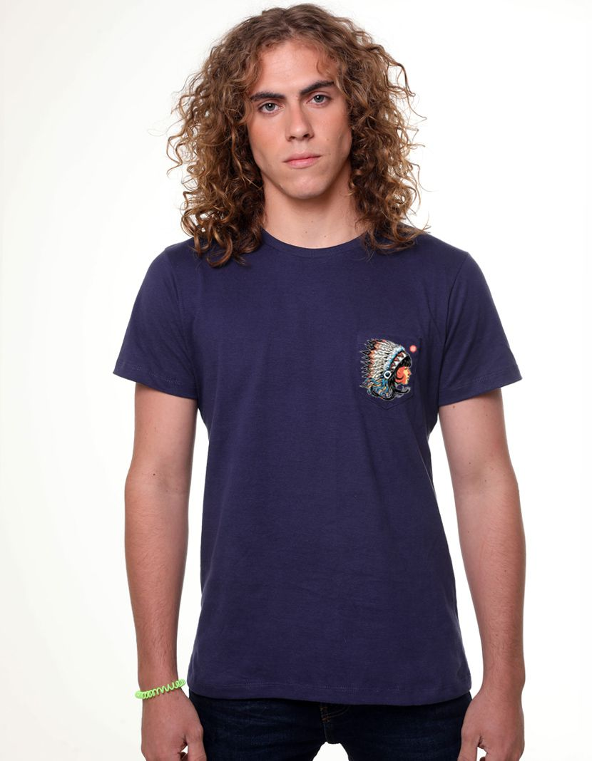 Camiseta Índia (Masculino Adulto)