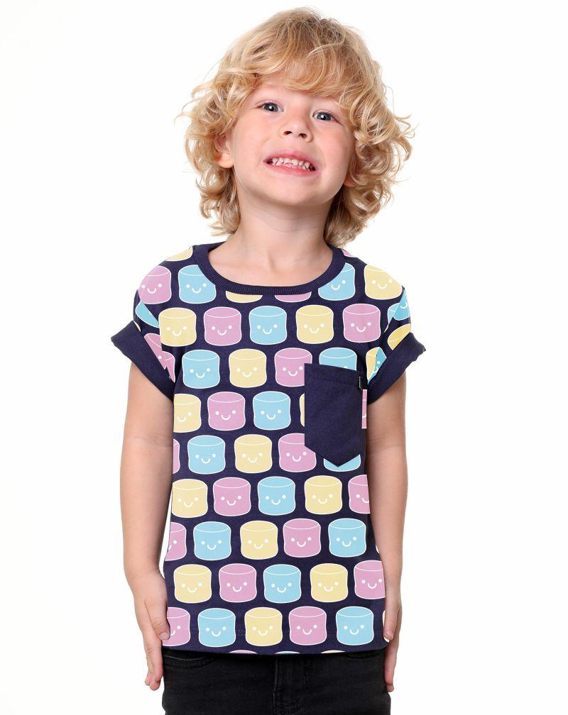 Camiseta Marshmallows (Infantil Masculino)