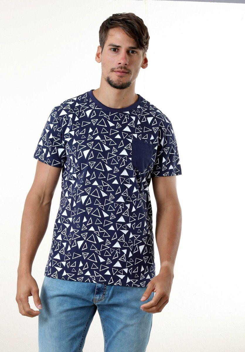 Camiseta Mini Triângulos