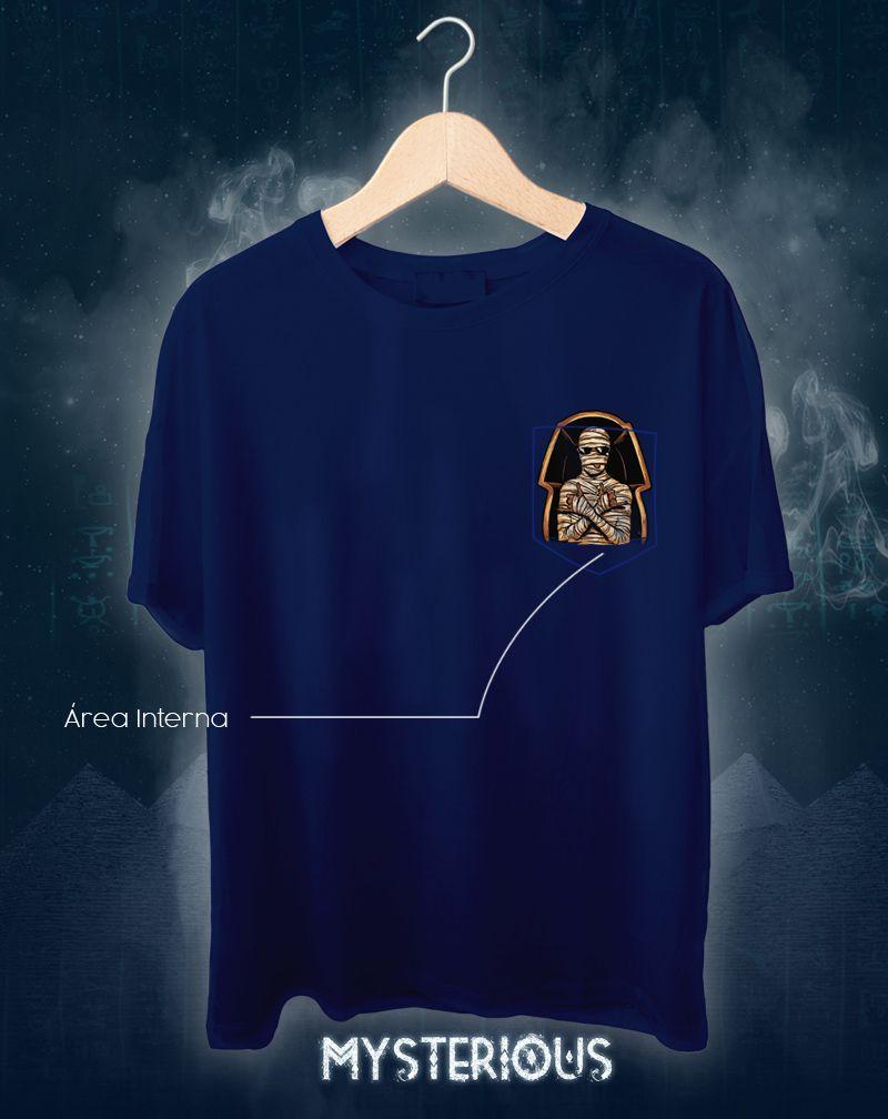 Camiseta Mysterious Egito (Masculino Adulto)
