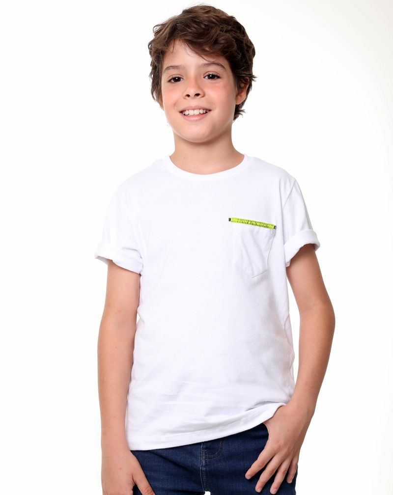 Camiseta Neon Bx (Infantil Masculino)