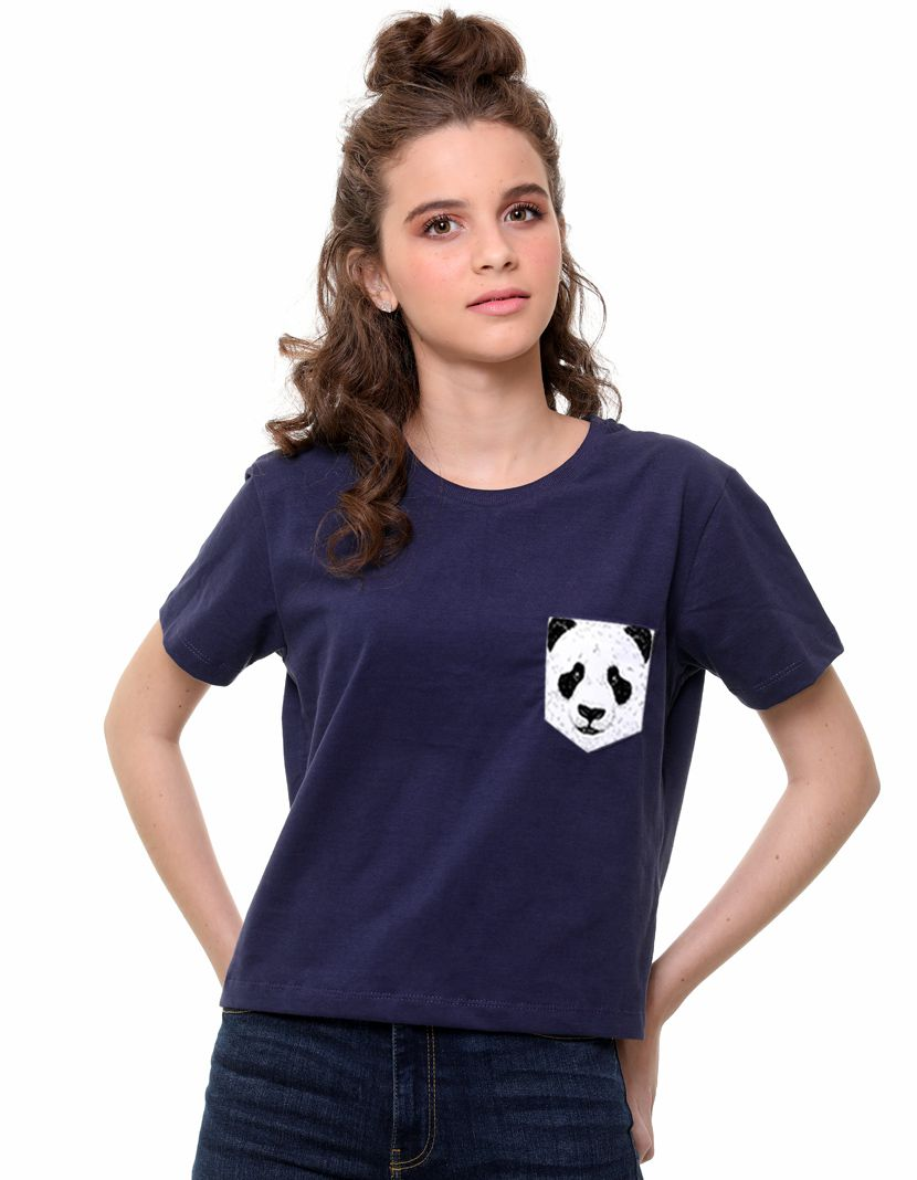 Camiseta Panda (Feminino Adulto)