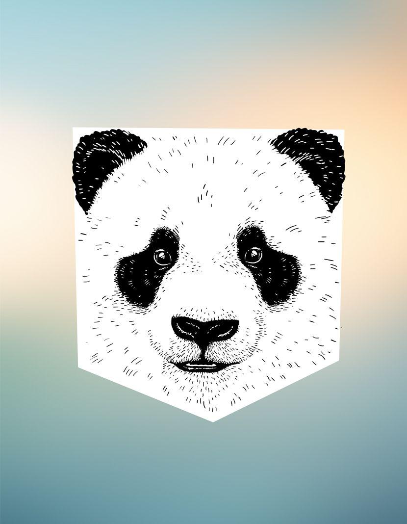 Camiseta Panda (Infantil Feminino)