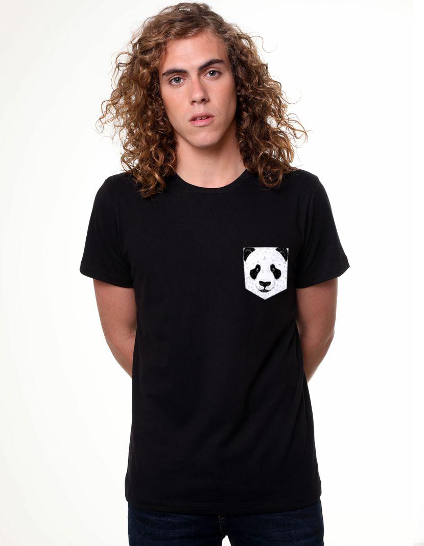 Camiseta Panda (Masculino Adulto)