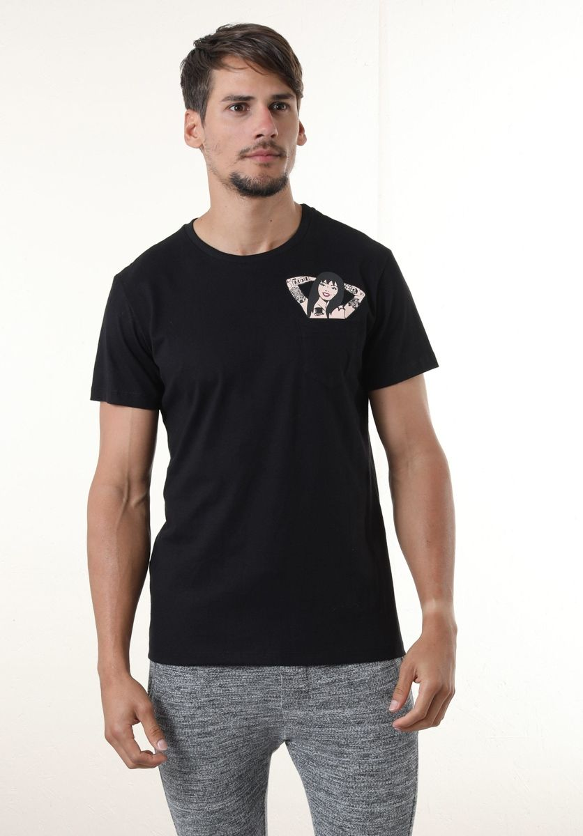 Camiseta Pin Up Frente