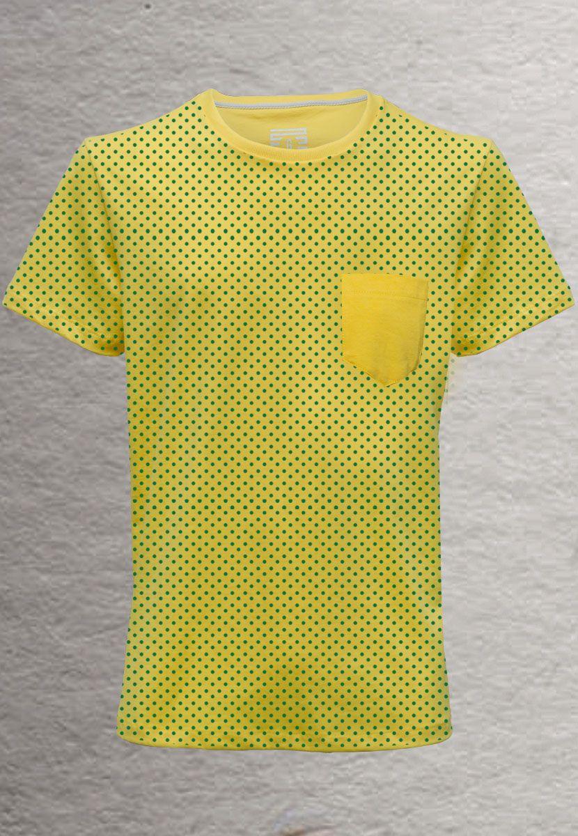 Camiseta Poá Color Brasil (Masculino Adulto)