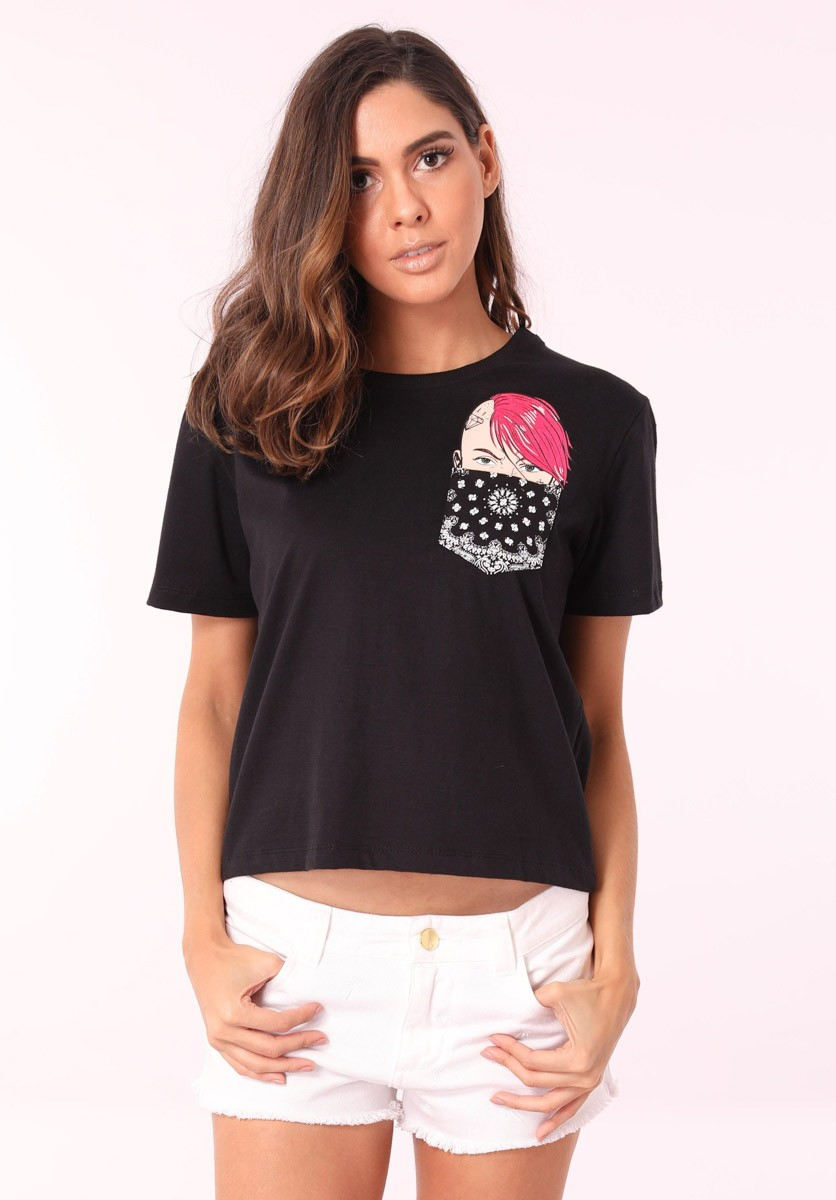 Camiseta Punk Girl