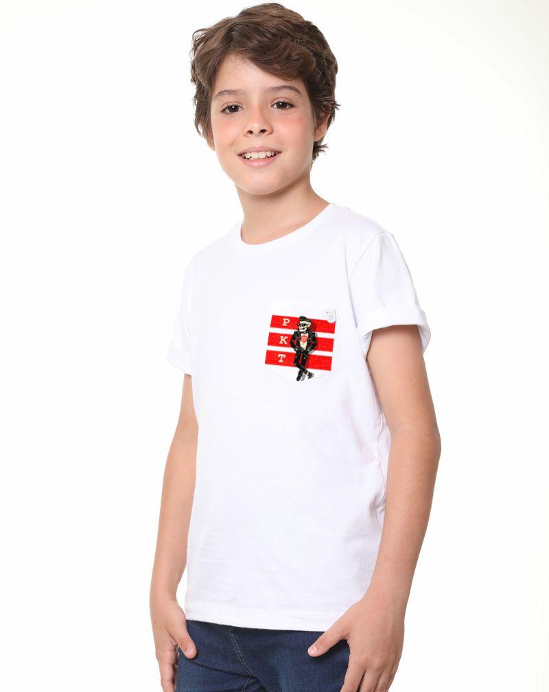 Camiseta Skull Teen (Infantil Masculino)
