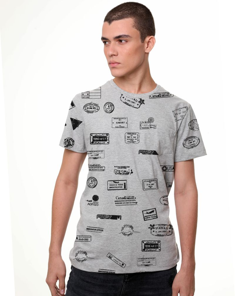Camiseta STAMPS (Masculino Adulto)