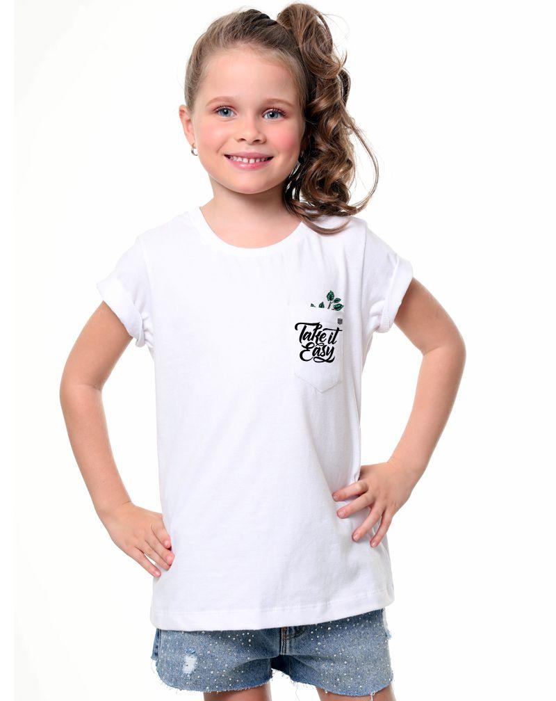Camiseta Take It Easy (Infantil Feminino)