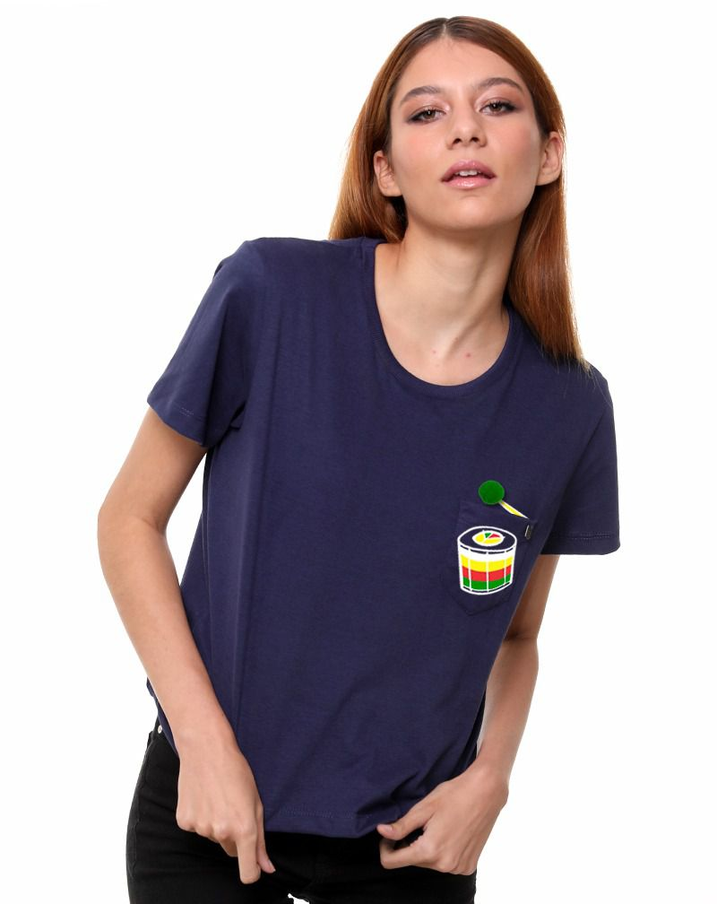 Camiseta Tambor (Feminino Adulto)