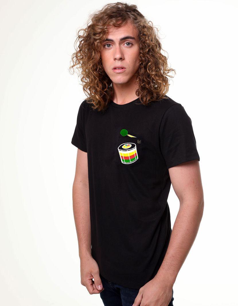 Camiseta Tambor (Masculino Adulto)