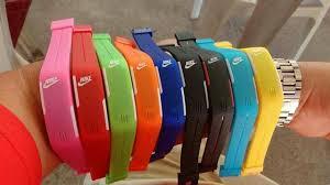 Relogio Pulseira Nike Digital Led