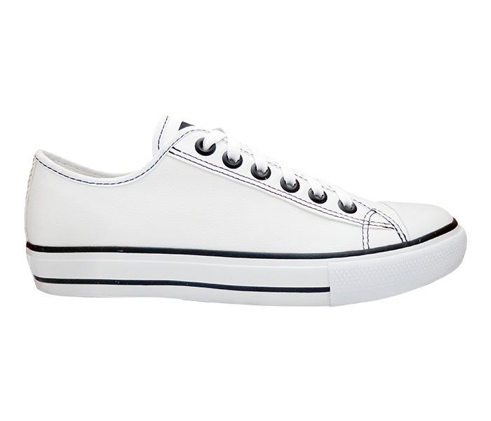 Tênis Converse ALL STAR Couro Sintético Branco ou Preto