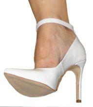 2ee48c8c87 Sapato Noiva Branco Verniz com Tira Salto 11 - NOIVAFESTA