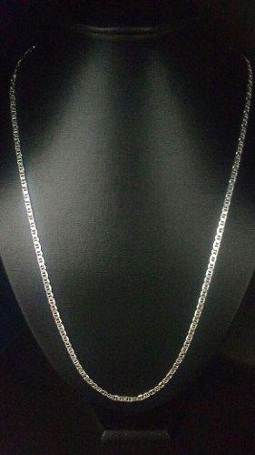 Corrente Prata 925 Maciça Lacre De Latinha 70 Cm 3,6 Mm