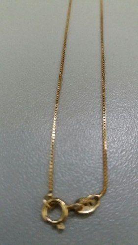 Promoção Cordão Corrente Veneziana 45cm Ouro 18k 750 Maciça - TOTAL PRATAS  JOIAS E ACESSORIOS LTDA 0466717781