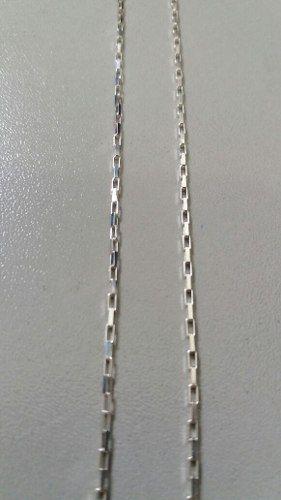 404ff78066df Cordão Corrente Cartier Em Prata 925 60 Cm 1,3 Mm 2,8 Gramas