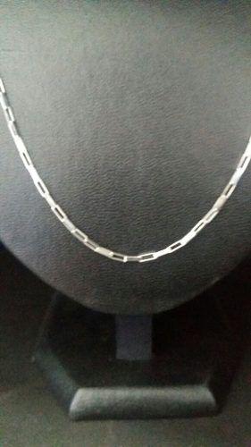 Cordão Corrente Cartier Em Prata 925 80 Cm 2 Mm 6 Gramas