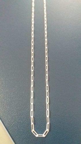 Corrente Cartier Fina Em Prata 925 70 Cm 1,7 Mm 3,5 Gramas