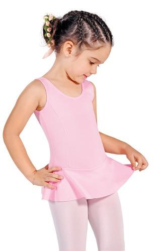 e366341053 Collant Regata c  Saia Infantil Ballet Só Dança - em Helanca - (Ref- ...