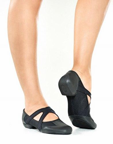 567973a381 Sapato Split Sole Feminino para Jazz - (Ref. JZ100) - QueDança ...