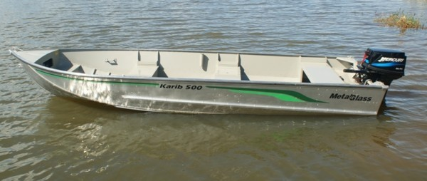 Barco de Alumínio Karib 500 BA