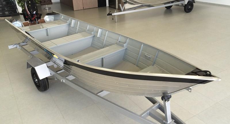 Barco de Alumínio Rebitado Pety 500 S