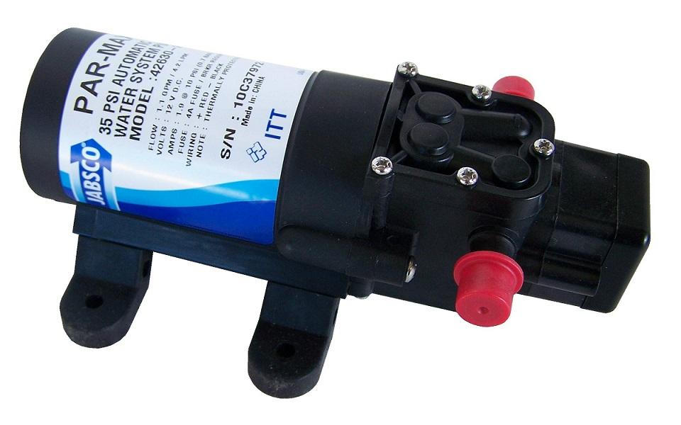 Bomba de Pressurização ParMax 1,1GPM 12v