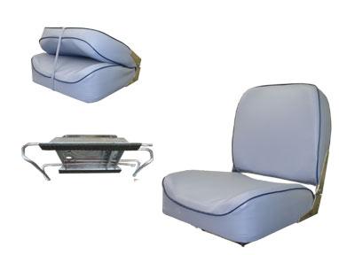 Cadeira Estofada com Ferragem