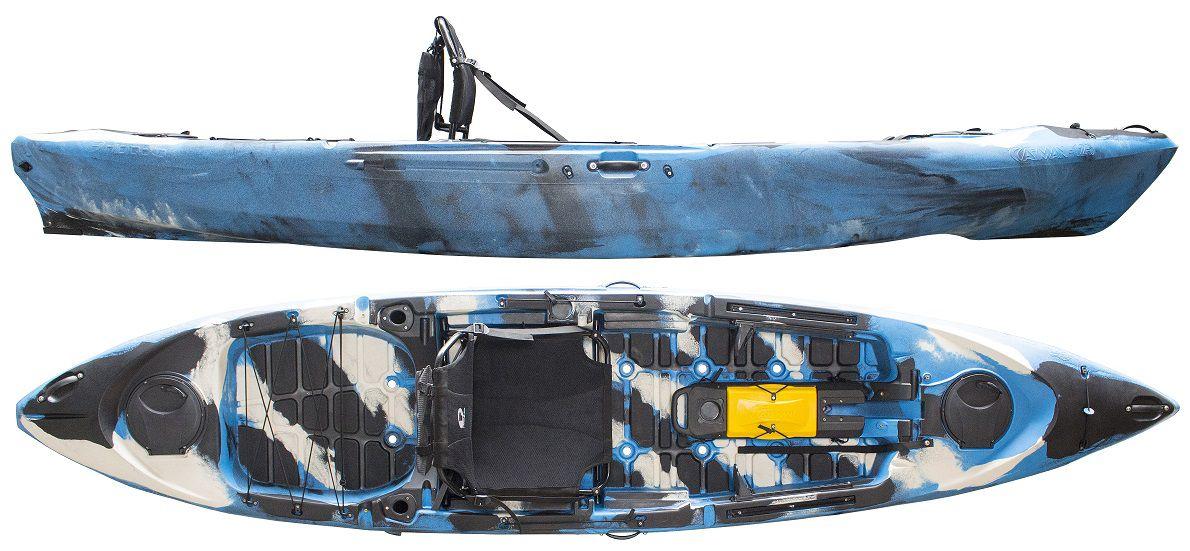 Caiaque Caiman 125 Standart (com leme)