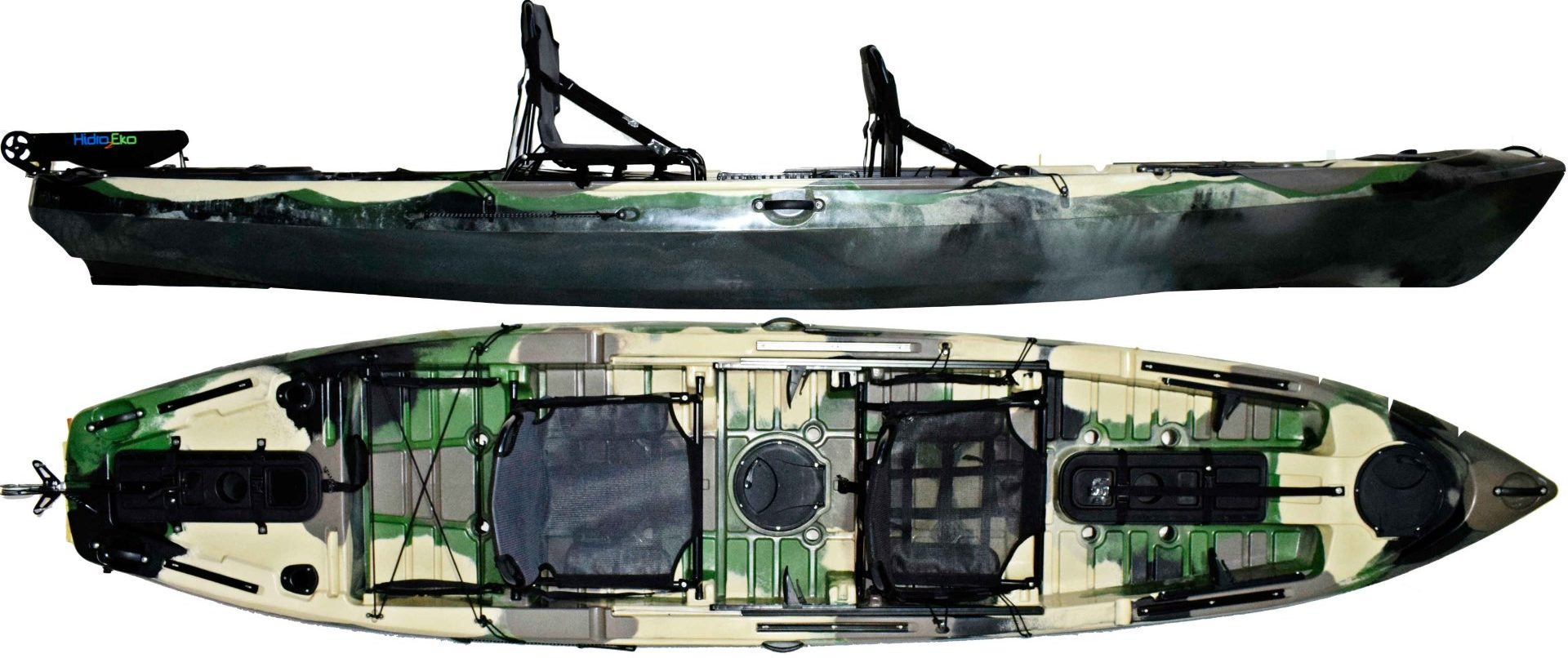 Caiaque Caiman 135 (Duplo)