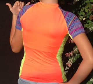 Camiseta Dry UV Infantil M/C Feminina