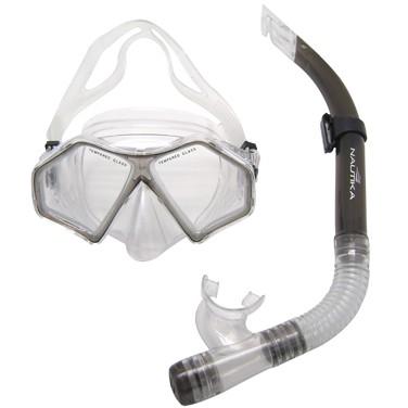 Kit de Mergulho Spider (Máscara e Respirador) Adulto