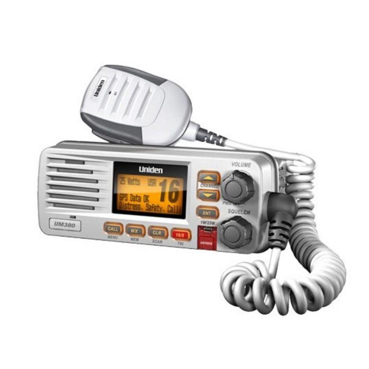 Rádio VHF Fixo Solara Uniden