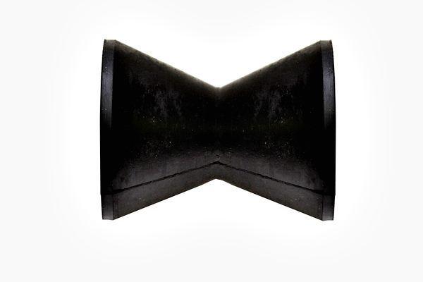 Rolete de Borracha para Reboque 10cm