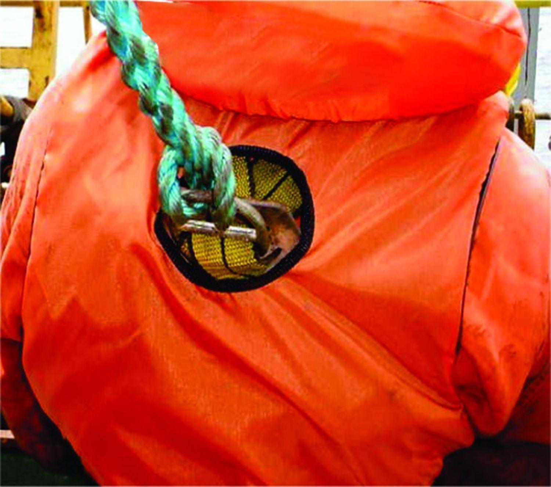 Salva-vidas Vertical Classe IV com Refletivo