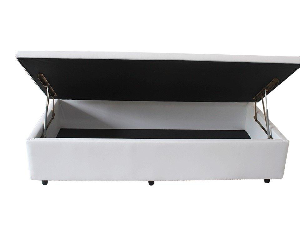 607c728f98 Cama Box Baú Medidas Especiais (Solteiro) Corino ou Sued