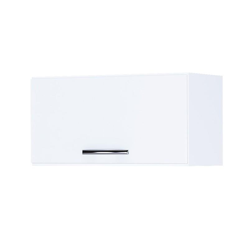 Armário Aéreo Geladeira 1 Porta Basculante Branco - AJL