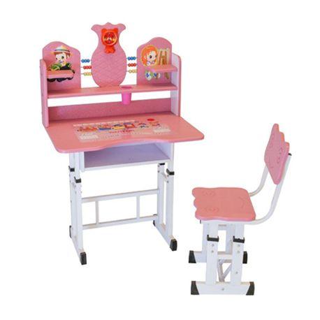 Mesa e Cadeira Infantil com Regulagem de Altura Charmy - Facthus