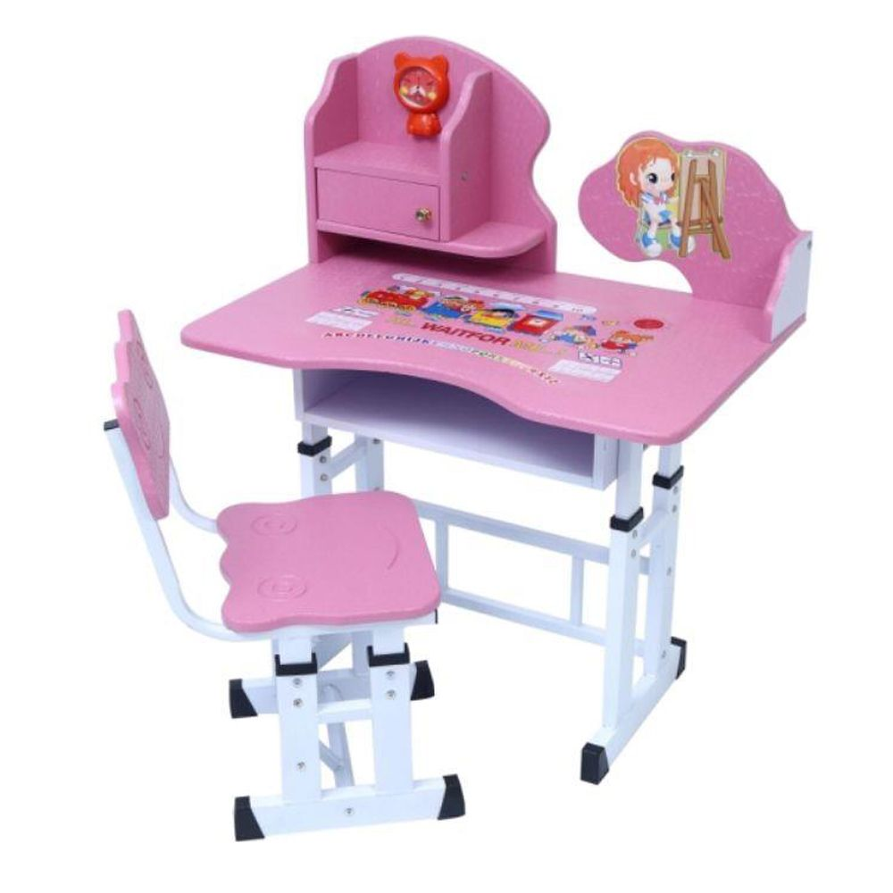 Mesa e Cadeira Infantil com Regulagem de Altura Smart - Facthus