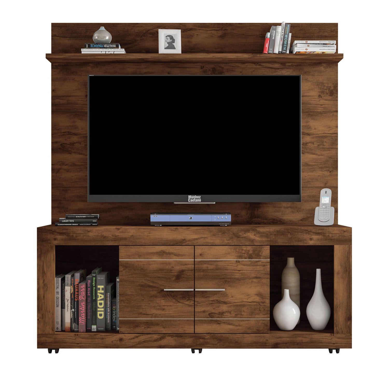 Painel com Rack para TV de até 60 Polegadas Triunfo - Caemmun