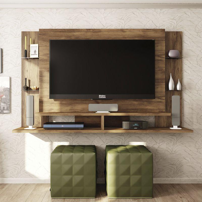 Painel Home Suspenso para TV de até 55 Polegadas Domínio - Caemmun
