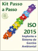 Kit  ISO 14001:2015 completo com todos os materiais